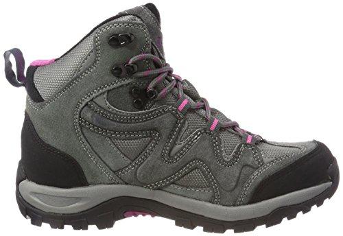 Doggo Rise Grey Atticus Steel Sky Hiking High 007 Black Unisex Boots Adults' Fuchsia Grey Grey wrTpxrI