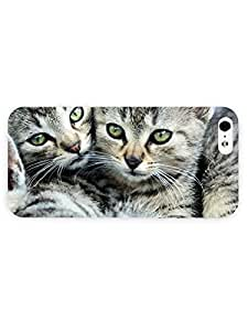3d Full Wrap Case for iPhone 5/5s Animal Cute Kittens37
