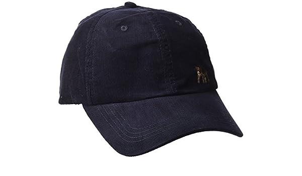 Springfield Gorra de Pana con Bordado de Oso Punto, Azul (Marine ...