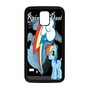 Generic Case Pearl Rainbow Dash Croft For Samsung Galaxy S5 Send tempered glass screen protector G7G2953163