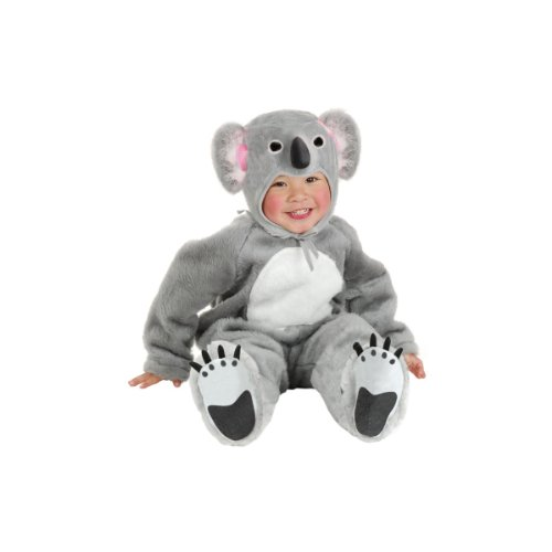 Charades Little Koala Bear Baby Costume Baby Costume, -Grey, -