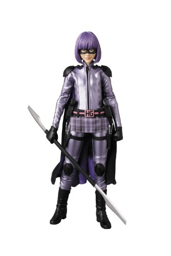 Medicom Kick-Ass 2: Hit Girl Real Action Hero Figure (Kickass Costumes)