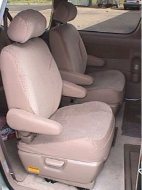 Toyota Sienna Seat Covers >> Amazon Com Durafit Seat Covers 2004 Toyota Sienna 7
