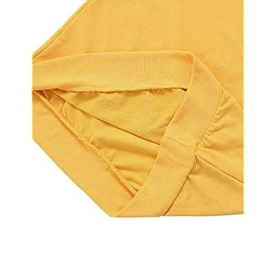 SweatyRocks Womens Casual Long Sleeve Pullover Sweatshirt Alien Patch Shirt Tops at Women's Clothing store