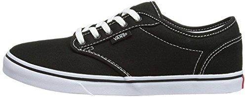 Vans Dames Atwood Low Fashion Sneakers Schoenen Zwart / Wit