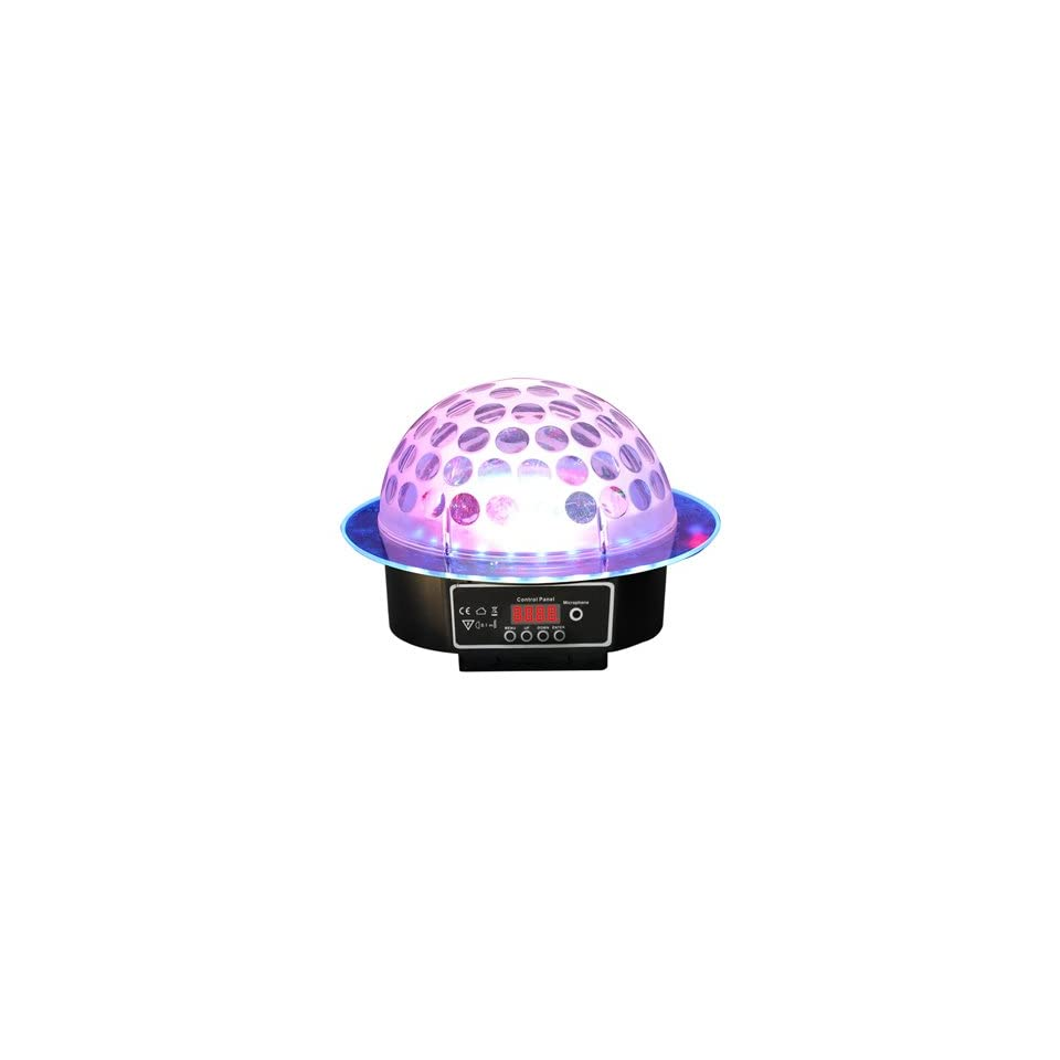 RSQ LMB 10 Sound Activate RGB Color LED Mirror Ball