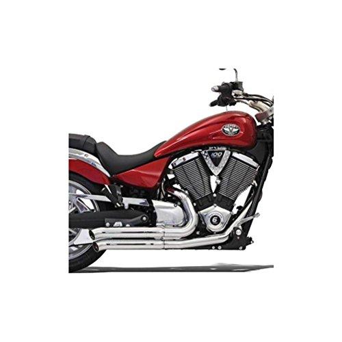 (Bassani Xhaust 06-09 Suzuki VZR1800 Pro Street Turn Out Exhaust (Chrome))