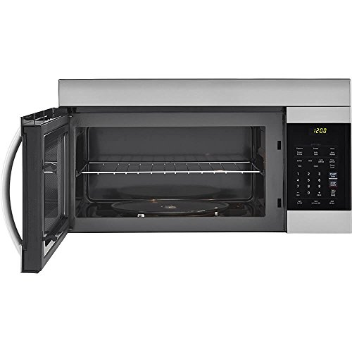 LG 30'' Stainless Over-The-Range Microwave (LMV1762ST) Stainless Steel/Black - New by LG (Image #1)