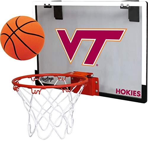 - Rawlings Virginia Tech Hokies Indoor Basketball Hoop Set - Over The Door Game