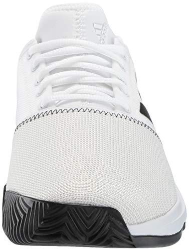 adidas Men's Gamecourt, White/Black/Grey 6.5 M US by adidas (Image #4)