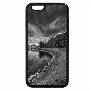 iPhone 6S Case, iPhone 6 Case (Black & White) - Taking a Journey
