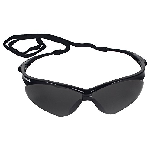 Jackson Safety V30 22475 Nemesis Safety Glasses 3020121 (3 Pair) (Black Frame with Smoke Anti-Fog Lens) by Jackson Nemesis (Image #2)
