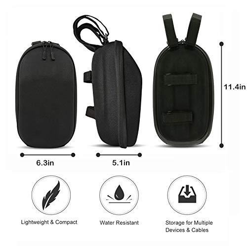 SHM-F Scooter Handlebar Bag Organizer Multi-Purpose Waterproof Handlebar Storage Bag for Kick Scooters,Stunt Scooters,Self Balancing Scooters,Segway ...