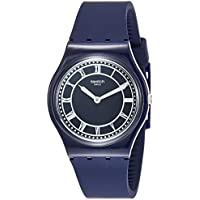 Swatch Originals Blue Ben Blue Dial Silicone Strap Unisex Watch GN254