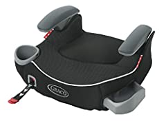 The TurboBooster LX backless booster with Affix Latch helps safely transport your big kid from 40 to 100 lbs. and up to 57 inches tall. It provides a secure connection to your vehicle seat with its one-hand front-adjust latch system, making s...