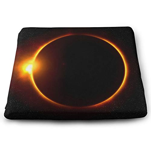 Comfortable Seat Cushion Chair Pad Solar Eclipse Perfect Memory Foam Cushions Lighten The Bumps]()