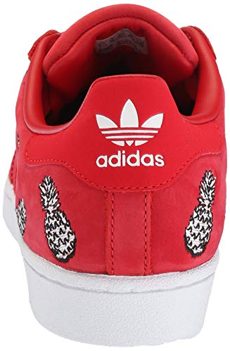 Rosso Superstarfashion 3 1 scarlet white scarlet Adidas Eu 41 Sneaker Originals wtqnaFHxRH
