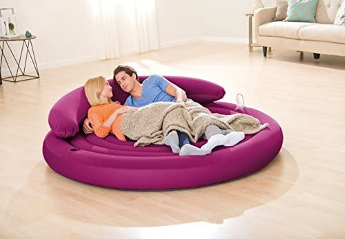 "Amazon.com: Intex Ultra sofá-cama inflable, 75"" ..."