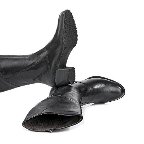 Tamaris 1-1-25508-27-001 - Botas de Material Sintético para mujer Negro