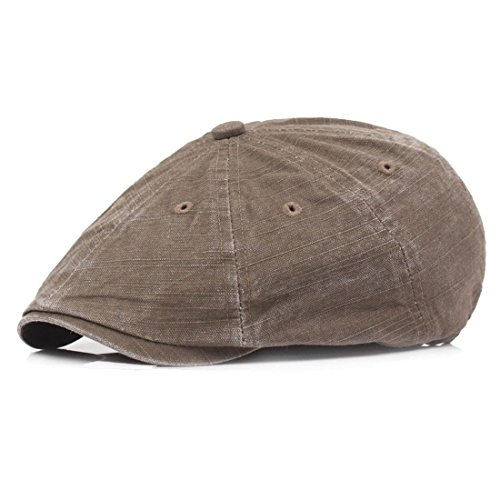 King Star Mens Gatsby IVY Collection Golf Driving Flat Cap Cabbie newsboy Hat - Collection Gatsby