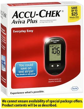 Accu-Chek Aviva Plus Blood Glucose Monitoring System - EA