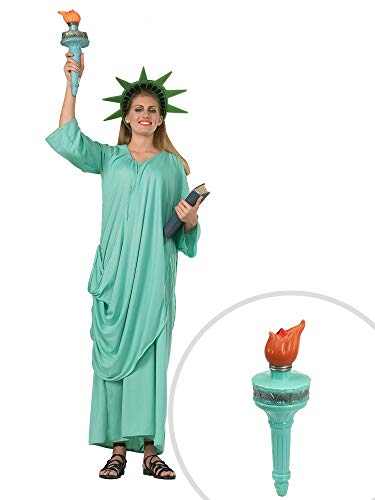 Statue of Liberty Costume Kit Adult Standard with Liberty Torch ()