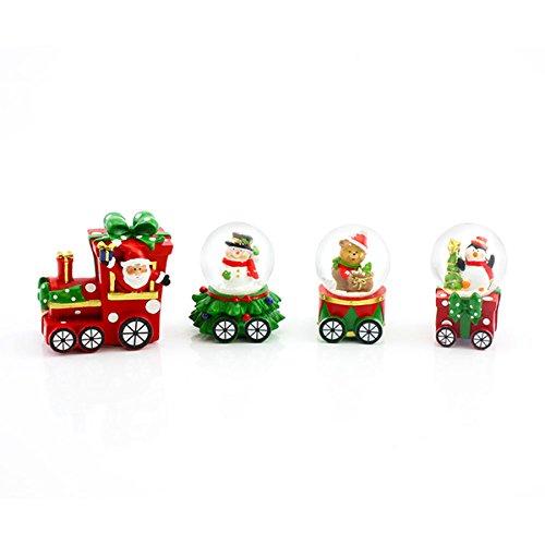 Natale Babbo Natale treno Waterbal by Leonardo