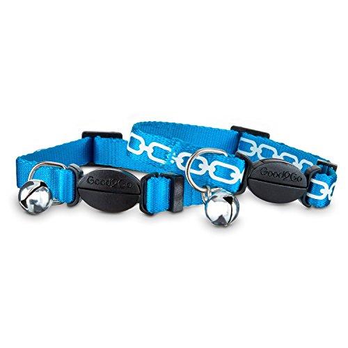 Good2Go Blue Link Breakaway Cat Collars Necks 8
