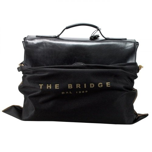 The Bridge Sfoderata Luxe Briefcase with laptop compartment 064051-01-14 braun, braun