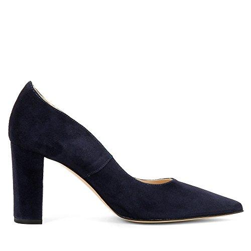 Foncé Evita Daim Femme In 7h6110v Escarpins Bleu Hat Jessica Shoes dBqxUd
