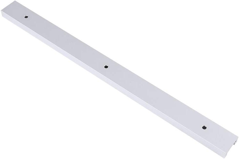 Rail en T en alliage daluminium 400 mm rail en T avec vis autotaraudeuses for le travail du bois Rail for rainure en T