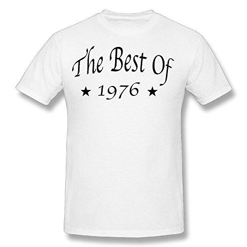 Men's The Best Of 1976 T Shirt White