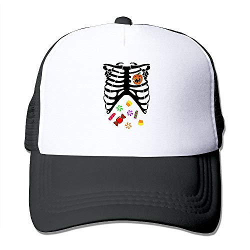 Unisex Heart of Pumpkin Halloween Candy2 Two Tone Trucker Hat Mesh Back Cap - The Great Outdoors ()