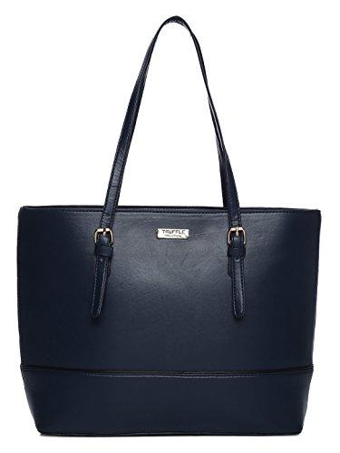 TRUFFLE COLLECTION Navy Shoulder Bag