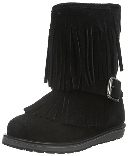 Geox Girls' Jr Noha 19-K Slip-on, Black, 41 EU(7 M US Big Kid) by Geox