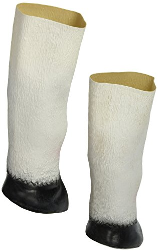 SHEENROAD Adult Latex Unicorn Hooves Gloves Prop ()