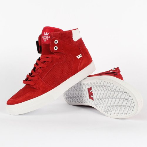 Supra Vaider Baskets S28058 Rouge Hommes ZrwExn5FZq