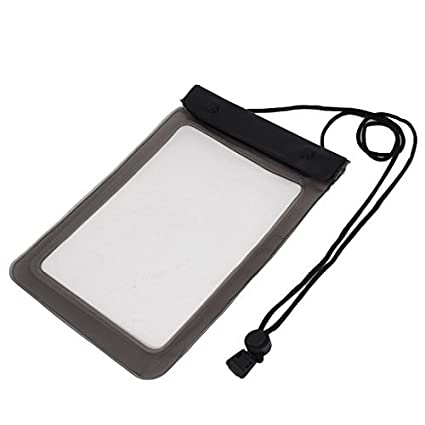 eDealMax Carcasa estanca Bolsa impermeable cubierta del bolso gris de la tableta DE 7.7 pulgadas