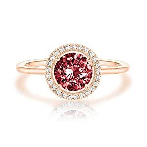 Swarovski Crystal 14K White Gold Plated Birthstone Rings | Rings for Women