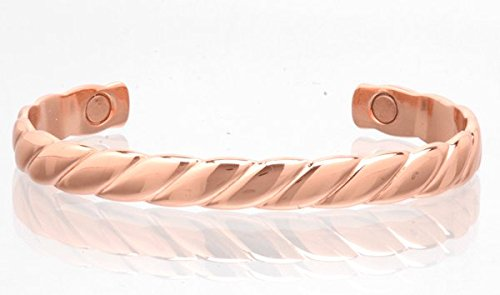 Magnetic Copper Bangle - Curls SHELLEY ENTERPRISES