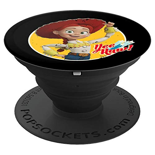 Disney Pixar Toy Story 4 Cowgirl Jessie Yee Haw - PopSockets Grip and Stand for Phones and Tablets