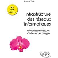 Infrastructure des réseaux informatiques - 50 fiches synthétiques et 100 exercices corrigés - BTS DUT Licence