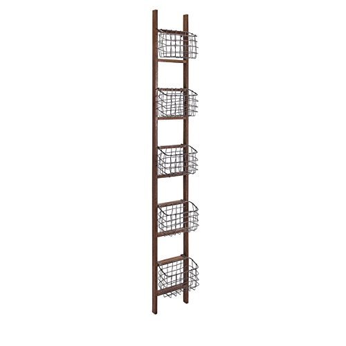 Review IMAX 84554 Carlow Wood Ladder Shelf By Imax by Imax