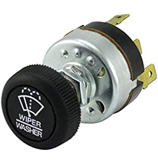 Amazon.com: Universal Windshield Wiper Switch for Single Motor ...