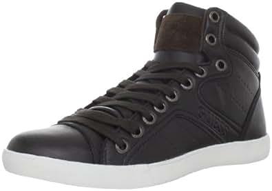 Guess Men's Jeran Sneaker,Dark Brown,7 M US
