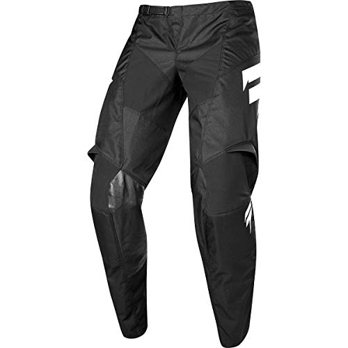 Shift Motorcycle Pants - Shift Racing Whit3 York Youth Off-Road Motorcycle Pants - Black / 28
