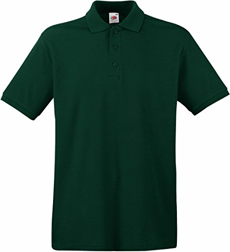 Forest Uomo Of Fruit Loom The Green Polo xHfH1qC