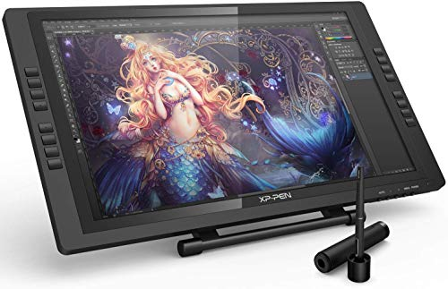 XP-PEN Artist 22E Pro HD Graphics Monitor IPS Drawing Tablet 8192 Pressure Levels Graphics Tablet Support 4k Monitors (22E Pro, Black)