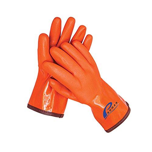 Promar GL-400-L Insulated Progrip Gloves- Large, Orange