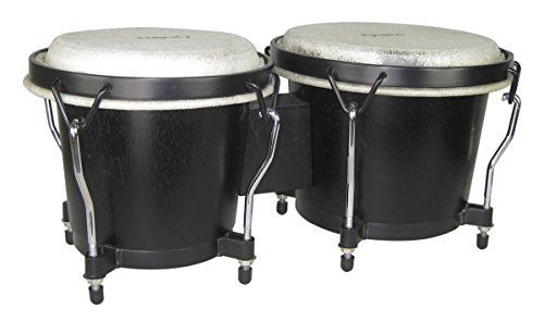 Tycoon Percussion TB-8BBK 6 & 7 Ritmo Bongos Black by Tycoon Percussion